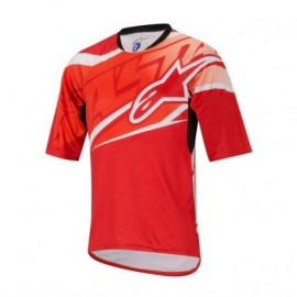 Jersey Alpinestars Sight SS Red/Orange