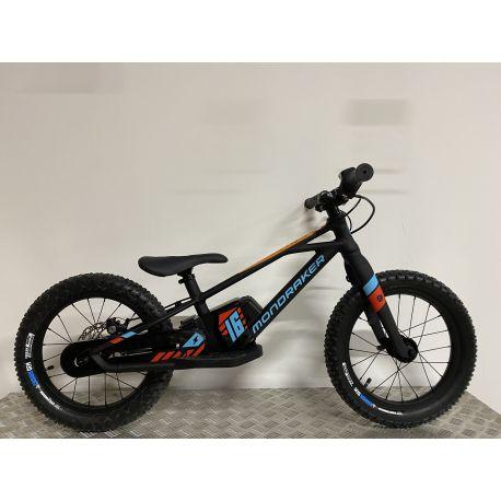 """E-Mtb Mondraker Grommy 16"""" 2021 Black/Blue/Red"""