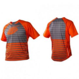 Jersey Troy Lee Designs Skyline Horizon Fire Orange