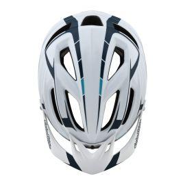 Casco Troy Lee Designs A2 Mips Sliver White/Marine