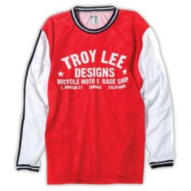 Jersey Troy Lee Designs Super Retro Red