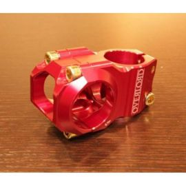 Attacco Manubrio NSB Overlord Stem 50mm Red NSBHS0002-R