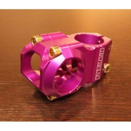 Attacco Manubrio NSB Overlord Stem 60mm Purple NSBHS0003-PL