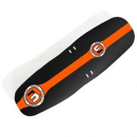 Parafango Mucky Nutz Face Fender XL Nero/Arancione