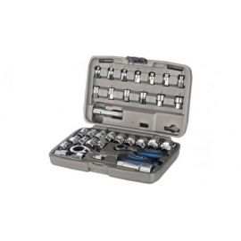 Set Chiavi a Bussola X-Tools 34 Piece Go-Through Socket Set 4-13mm. 3/8