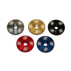 Tappo Serie Sterzo 4 Spoke Headset Top Cap NSBTC0002-BL Blue
