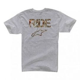 T-shirt Alpinestars Ride Camo Tee Grey