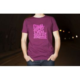 T-Shirt Commencal 100% Cotton Supreme FR Purple