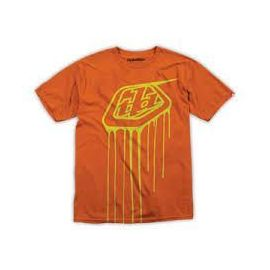 T-Shirt Kid Troy Lee Designs Shield Drip Orange