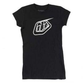 T-Shirt Troy Lee Designs Logo Girls Black