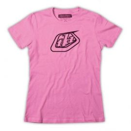 T-Shirt Troy Lee Designs Logo Girls Pink