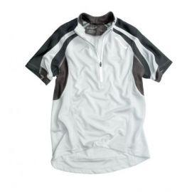 T-Shirt Zip Endura Hummvee S/S Shirt Bianca