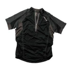 T-Shirt Zip Endura Hummvee S/S Shirt Nera