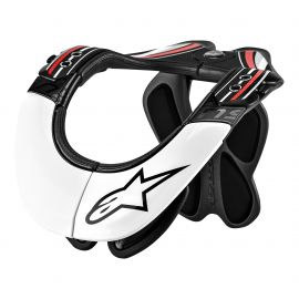 Alpinestars Neck Brace BNS Pro Bionic Neck Support Bianco