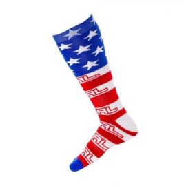 Calze ONeal Pro MX Sock USA White/Blue/Red (One Size)