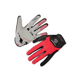 Guanti Endura SingleTrack Plus Glove Red 2017