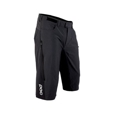 Pantaloni corti POC Resistance Enduro Mid Short Carbon Black 2017