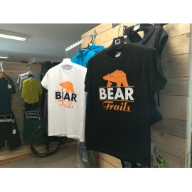T-shirt Bear Trails White