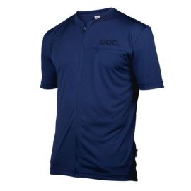 T-Shirt POC Jersey Trail Light Tee Zip Boron Blue