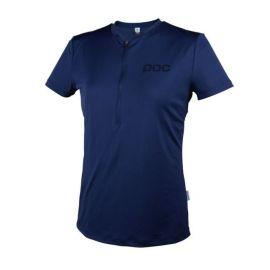 T-Shirt POC Trail Light Tee Zip Women Boron Blue