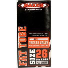 Camera MTB Maxxis 26x3,80/5,00 FAT Bike Presta valve IB68600200