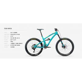Yeti SB6C Kit XT/SLX Turquoise