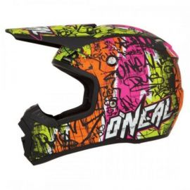Casco Oneal 5Series Helmet Vandal Black/Neon Yellow