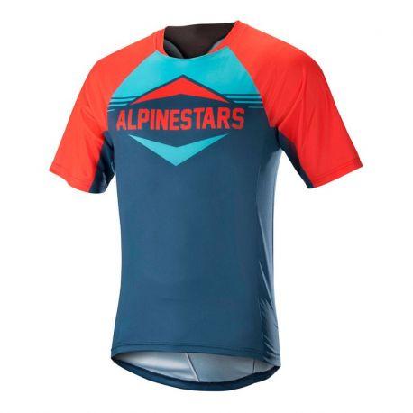 Jersey Alpinestars Mesa SS Orange/Blue 2018