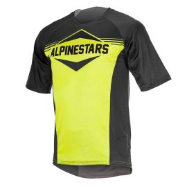 Jersey Alpinestars Mesa SS Black Acid Yellow 2018