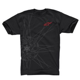 T-shirt Alpinestars Tech Spokes Black 2018
