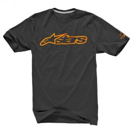 T-shirt Alpinestars Blaze 2 Black Orange 2018