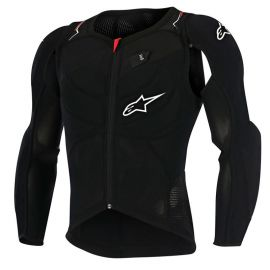Pettorina Alpinestars Evolution L/S Black White Red