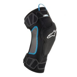 Ginocchiere Alpinestars E-Ride Knee Black Cyan