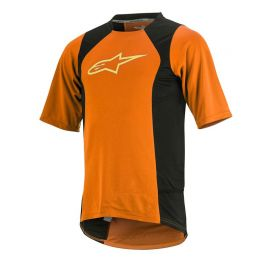 Jersey Alpinestars Drop 2 SS Orange Yellow