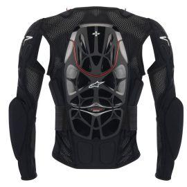 Pettorina Alpinestars Tech Bionic Jacket Black Red