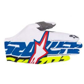 Guanti Alpinestars Rover Glove White Blue Yellow