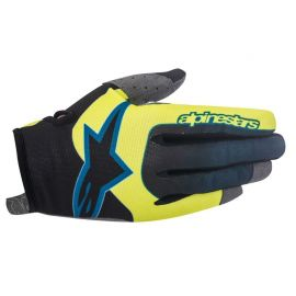 Guanti Alpinestars Vector Glove Acid Yellow Black
