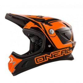 Casco Oneal Fidlock DH Helmet Steel Black/Orange