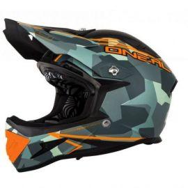 Casco Oneal Fidlock DH Helmet Warp Edgy Camo