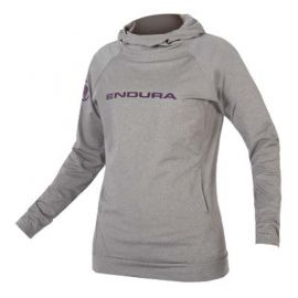 Felpa Endura Wms Single Track Hoodie Grey