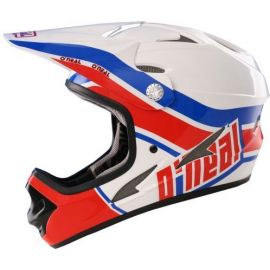 Casco ONeal Fury Fidlock DH Retro Red/Blue