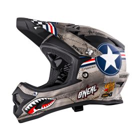 Casco ONeal Backflip RL2 Youth Evo Wingman Metal/White