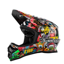 Casco ONeal Backflip RL2 Youth Evo Crank Black/Multi