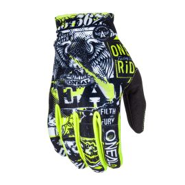 Guanti ONeal Matrix Attack Black/Hi Viz