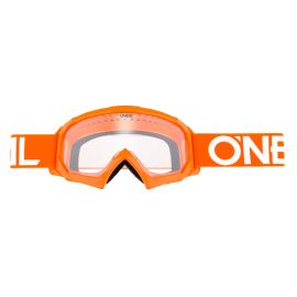 Mascherina O'Neal B-10 Youth Goggle SOLID Orange/White