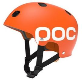 Casco POC Receptor Flow Iron Orange Dirt BMX Skate