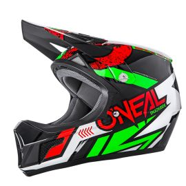 Casco ONeal Sonus Helmet Strike Red/Green