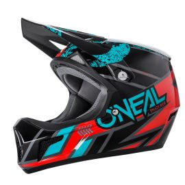 Casco ONeal Sonus Helmet Strike Black/Teal