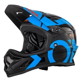 Casco ONeal BackFlip RL2 Helmet Slick Black/Blue