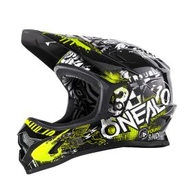 Casco Integrale MTB O`Neal BACKFLIP RL2 Youth Evo Helmet ATTACK blk/hi-viz